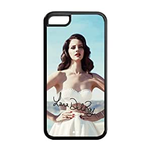 Hot Singer Lana Del Rey TPU Case Cover Protective For Iphone 5/5s iphone5/5s-NY169
