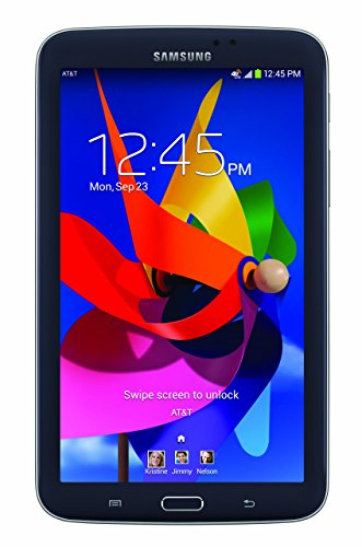 7-Inch 4G LTE AT&T GSM T217A 16GB Black ()