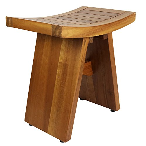Teak 18 inch Shower Bench: The Sulawesi Bench   H For Care