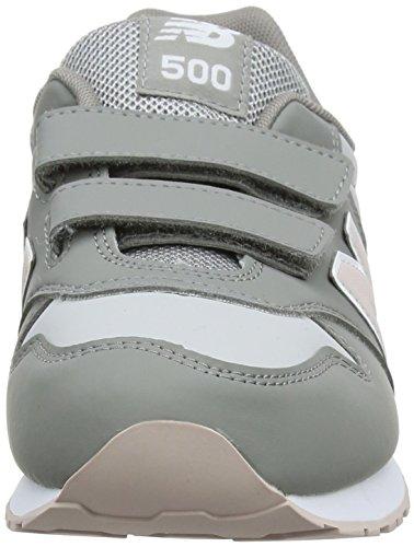Gris Baskets Enfant Balance pink grey 005 New Pg Mixte wXH6Cq