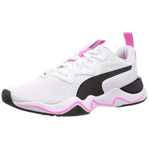 chollos oferta descuentos barato PUMA Zone XT Wns Zapatillas Deportivas para Interior Mujer Blanco White Black Luminous Pink 42 5 EU