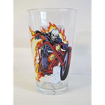 Amazon.com | Ghost Rider Toon Tumbler 16 Oz. Pint Glass