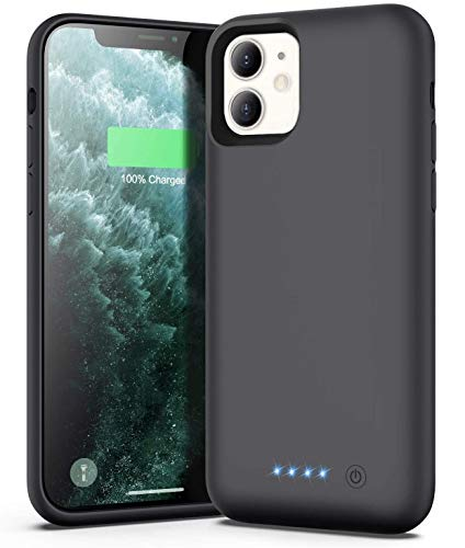 Xooparc Battery case for iPhone 11 [6800mah] Upgraded Charging Case Protective Portable Charger Case Rechargeable…
