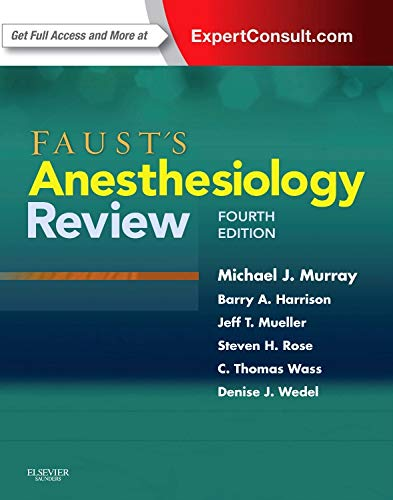 Books : Faust's Anesthesiology Review