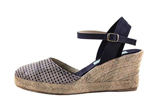 Amelie 415AM - Zapato Señora Piel - 38, Beis