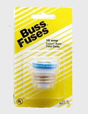 Cooper Bussmann BP/T-10 Type T Plug Fuse Time Delay Fusetron by Cooper Bussmann ()