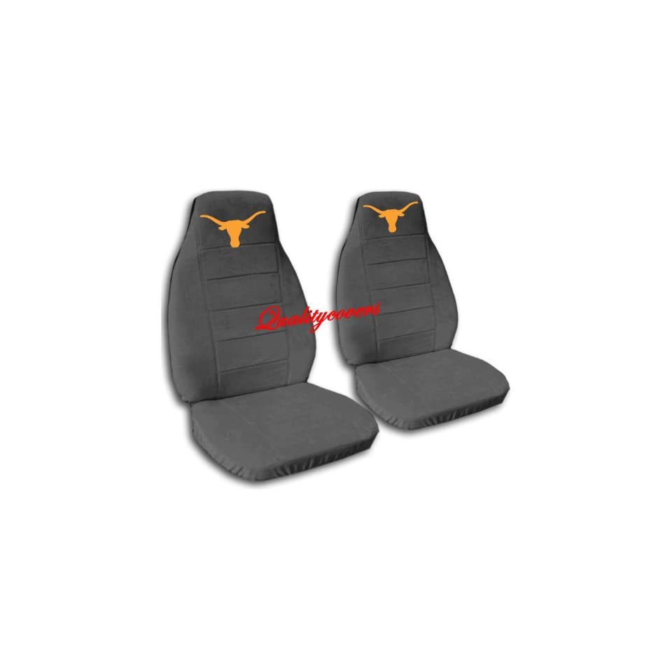 Charcoal Longhorn seat covers. 40/60 split seat covers for a Ford F 150 Super Crew cab. Center console included