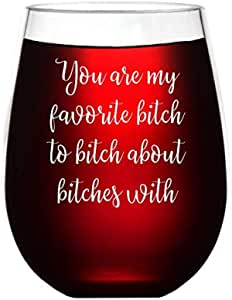 I/'m a Unicorn Wine Glass  Sassy Gift Ideas  Sassy Wine Glass  Unicorn Gifts  Best Friend Gifts  Funny Gifts for Her