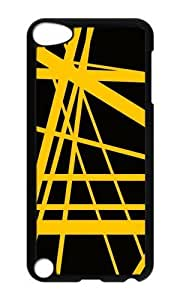 Ipod 5 Case,MOKSHOP Awesome Rock Star Yellow Hard Case Protective Shell Cell Phone Cover For Ipod 5 - PC Black by heywan
