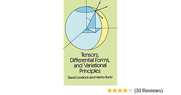 Tensors, Differential Forms, and Variational Principles (Dover Books