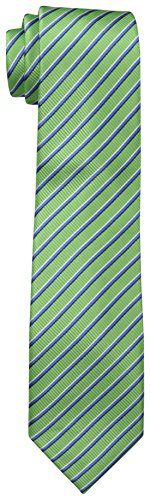 Ties Boys Polyester Green (Dockers Big Boys Stripped Necktie,Green,One Size)