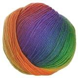 Crystal Palace - Mochi Plus Knitting Yarn - Intense Rainbow (# 551)