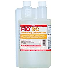 F10SC super concentrate is an EPA approved hospital grade disinfectant. It is used in many of the world's leading veterinary hospitals and zoological institutions as well as by leading reptile, avian and exotic pet breeders and keepers. F10 i...