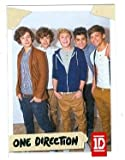 One Direction trading card #78 Louis Tomlinson, Niall Horan, Liam Payne, Zayn Malik, Harry Styles