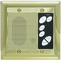 Legrand - On-Q F7641SB Intercom Patio Unit, Outdoor, Shiny Brass