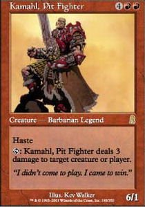 Magic: the Gathering - Kamahl, Pit Fighter - Odyssey
