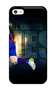 Durable Protector Case Cover With Lionel Messi Barcelona Hot Selling Design For Iphone 5/5s