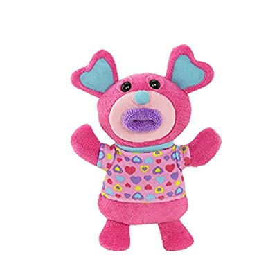 "Singamaling Blush Plush Sings ""Mary Had A Little Lamb"" Plush, pink: Toys & Games"