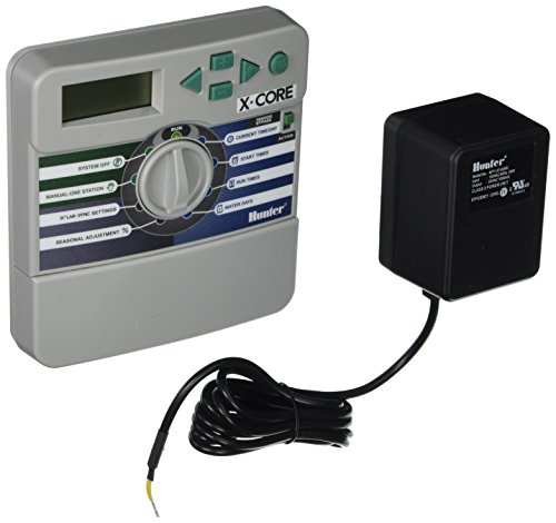 Hunter Sprinkler XC600i X-Core 6-Station Indoor Controller Timer 6 Zone (Hunter Irrigation Controller)