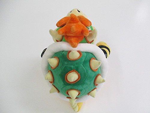 "Sanei Super Mario All Star Collection 10"" Bowser Plush, Small"