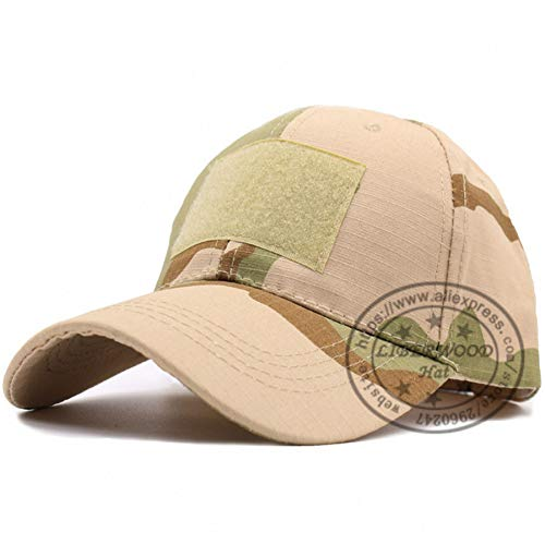 Cotton Desert Storm Camouflage - MKJNBH Digital Camo Special Force Tactical Operator Hat Contractor Swat Baseball Cap