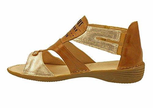 Dorking - Sandalias de vestir para mujer Natural