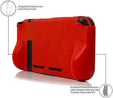 Orzly Funda Comfort Grip Case para la Nintendo Switch – Carcasa ...