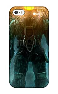 Awesome Bioshock 2 Flip Case With Fashion Design For Iphone 5/5s