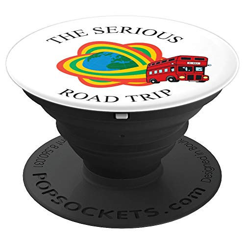 - The Serious Road Trip Rainbow London Bus PopSockets Grip and Stand for Phones and Tablets