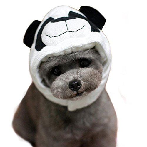 Costume Cat Panda (Alfie Pet by Petoga Couture - Qeno Panda Hat for Party Halloween Special Events Costume (for Small Dogs & Cats) - Size:)