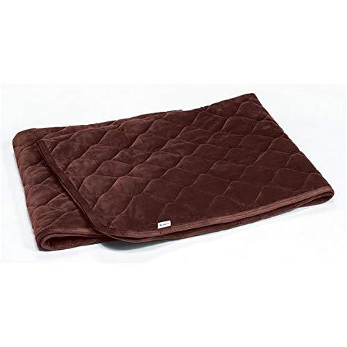 敷き布団カバー関連 おしゃれ 敷きパッド/寝具 【ワインブラウン シングル】 洗える 通気性 保温性 中空わた B07RN6QXD7
