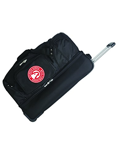 NBA Atlanta Hawks Rolling Drop-Bottom Duffel by Denco