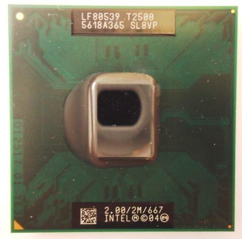 - Intel Core Duo T2500 SL8VP SL9EH 2.0GHz 2MB Mobile CPU Processor Socket M 478-pin