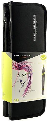 Amazon Com Prismacolor Brush Tip Marker Sets Assorted