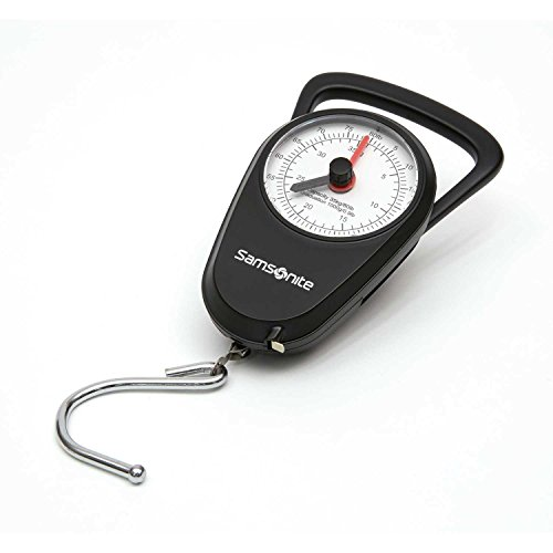 Samsonite Manual Scale, Black ()
