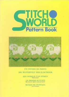 Stitch World Pattern Book 555 Knitting Machine Patterns Brother 930 940 (in English, German, French, Italian, Spanish, Dutch and Japanese)