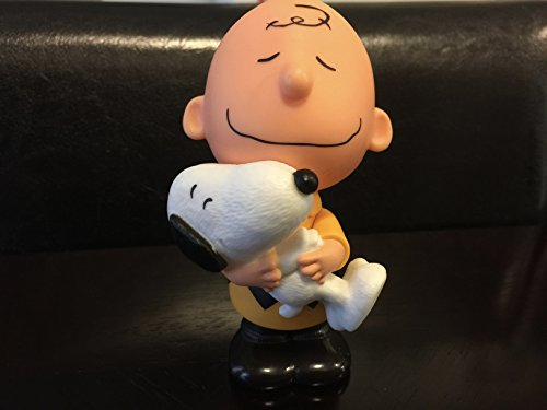 The Peanuts Movie Mcdonalds 2015 #11 Charlie Brown & Snoopy Bobble Toy ()
