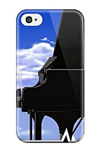 AnnaSanders Scratch-free Phone Case For Iphone 4/4s- Retail Packaging - Angel Beats Beats! Anime Other