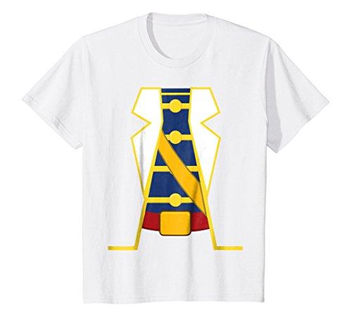 Kids Charming Prince Easy Cosume DIY Shirt - Funny Halloween Gift 10 White -