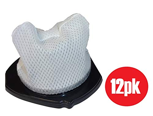 Shark XF769 Cordless Pet Perfect SV780 Dust Cup Filters,  3