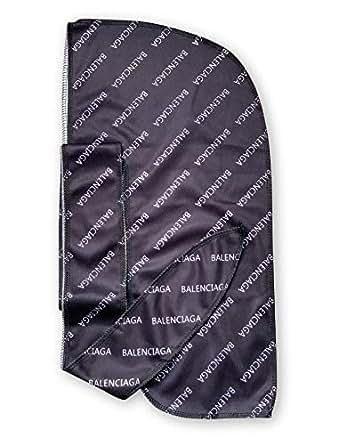 Customs Slippery Apparel | Designer Durag Fashion Durags LV Supreme Ape & More - Limited Edition (Balenci Black)