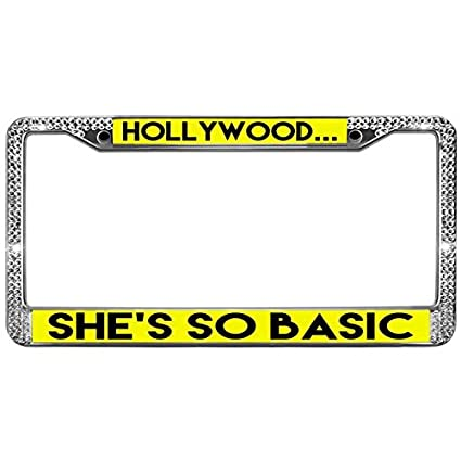Amazon.com: GND License Plate Frames Stainless Steel Car Licence ...
