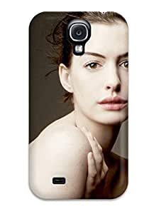 Best 1237755K30960267 New Style Hard Case Cover For Galaxy S4- Anne Hathaway