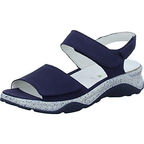 Bleu Blue 200 Sandalettes Femmes Waldläufer Bleu 936001 blue 162 p8zzSg