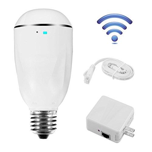 LESHP 200Mbps WIFI LED Light Bulb Better than WIFI Repeater