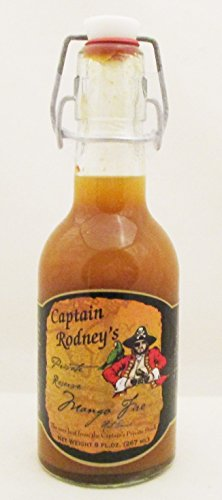 Captain Rodney's Private Reserve Mango Hot Fire Sauce 7.0 OZ by Bell Buckle Country Store