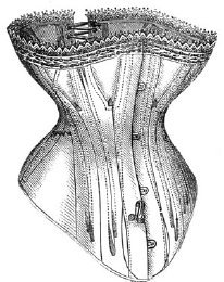 True Grit Costumes (1876 Corset for Cuirass Basques Pattern)