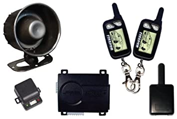 Excalibur K9-ECLIPSE K-9 2 WAY ALARM KEYLESS 2 REMOTES RF