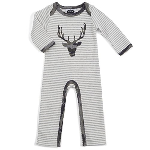 MUD PIE INFANT BOY'S CAMO STAG ONE-PIECE