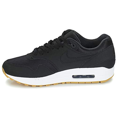 WMNS Sneakers 1 Light Max Gum Air Black 001 Brown NIKE Black Noir Femme Basses dnFqgd